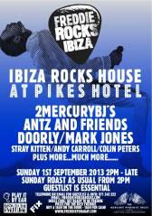 Freddie Rocks Ibiza_Flyer2013
